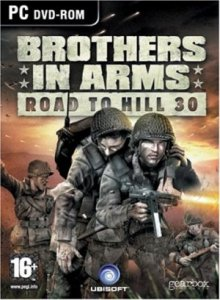 скачать игру бесплатно Brothers In Arms Road To Hill 30 (2005/RUS) PC