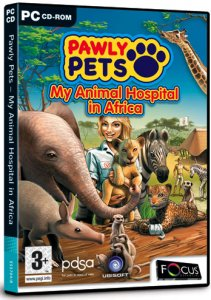 скачать игру бесплатно Pawly Pets: My Animal Hospital in Africa (2008/ENG)