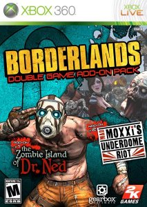 скачать игру бесплатно Borderlands: Double Game Add-On Pack (2010/ENG) XBOX360
