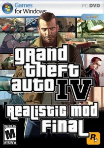скачать игру бесплатно Grand Theft Auto IV Realistic MOD FINAL (2010/ENG/ADDON) PC