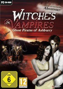 скачать игру бесплатно Witches & Vampires: Ghost Pirates Of Ashburry (2011/ENG/DE) PC