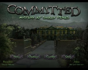 скачать игру бесплатно Committed: Mystery at Shady Pines (2011/Eng) PC