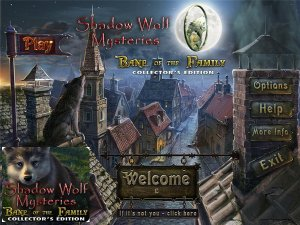 скачать игру бесплатно Shadow Wolf Mysteries 2: Bane of the Family Collector's Edition (2011/ENG) PC