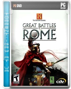 скачать игру бесплатно The History Channel Great Battles of Rome (2007/RUS) PC