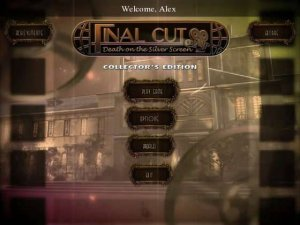 скачать игру бесплатно Final Cut: Death on the Silver Screen. Collectors Edition (2012/RUS) PC